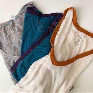 3 Me to We flowy tee shirts